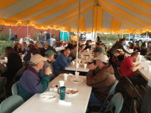 Field day dinner