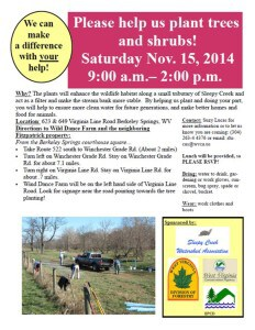Come join the fun on Nov. 15 at Wind Dance Farm