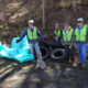 "SCWA Cleans up part of Sleepy Creek in the 2015 ""Make It Shine"" campaign"