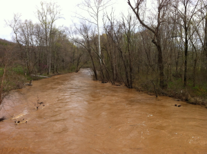 Swollen Sleepy Creek