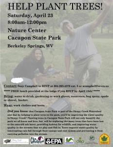 Come join us for a fun tree planting event!
